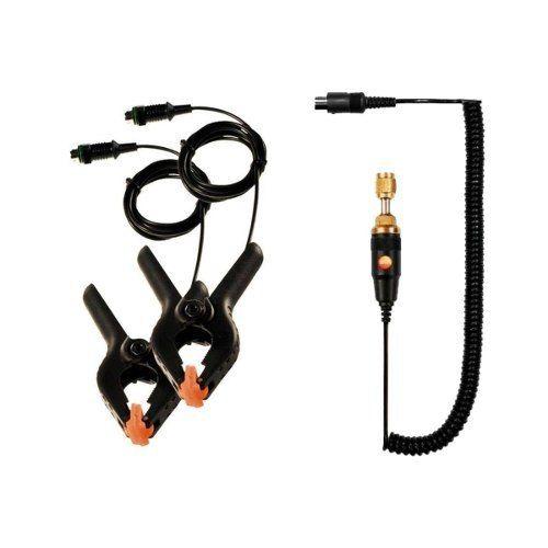 Manifold Digital Testo 557 4 Vias Vacuômetro Bluetooth Integrado + 4 Mangueiras com Maleta
