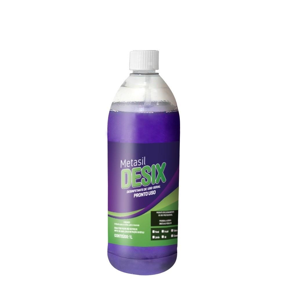 Metasil Desix Bactericida Limpeza Ar Condicionado 1 Litro Escolha a Fragrância