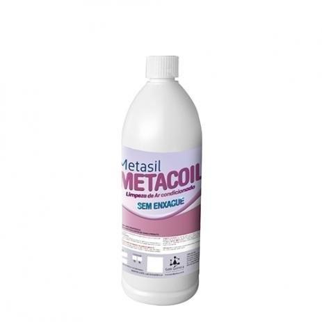 Metasil Metacoil Limpador De Ar Condicionado Sem Enxague 1 Litro