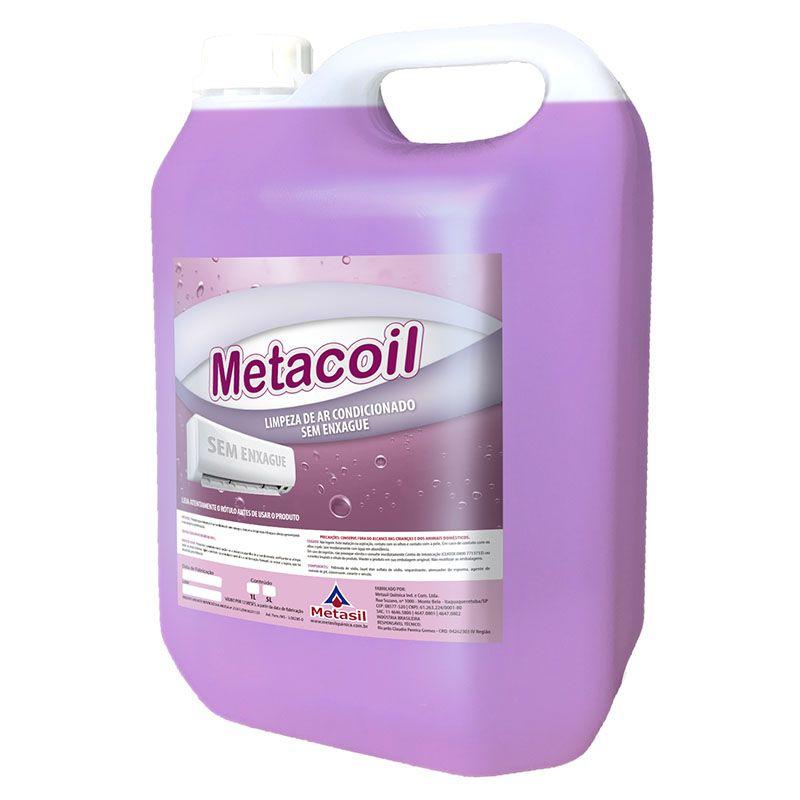 Metasil Metacoil Limpeza de Ar Condicionado Sem Enxague 5 Litros