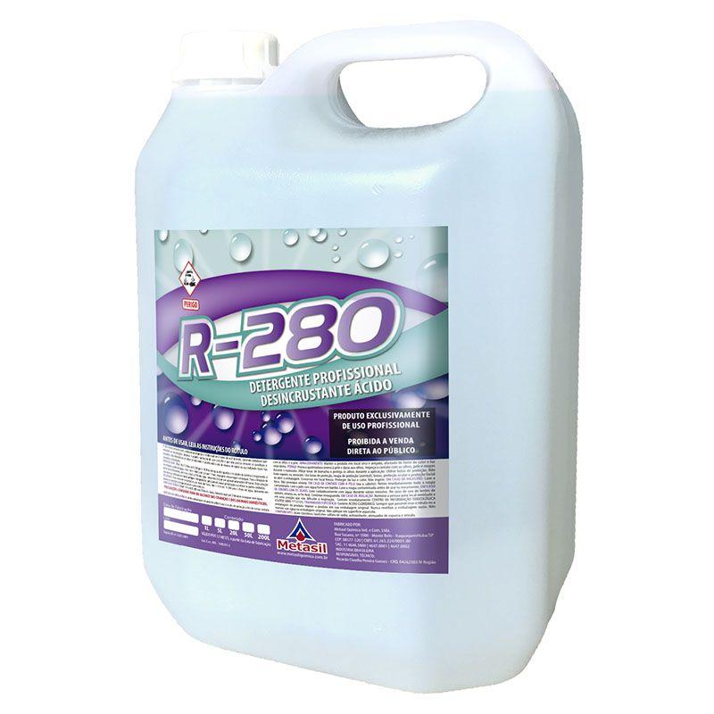 Metasil R-280 Desincrustante Ácido Galão 5 Litros