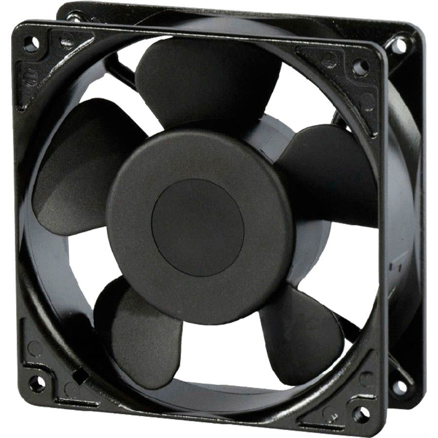 Micro Motor Ventilador Cooler Bivolt 4 Fios 120x120x38mm