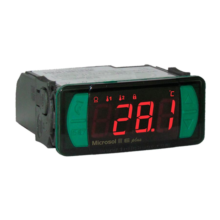 Controlador Temperatura Microsol II E Plus 115/230 Vac