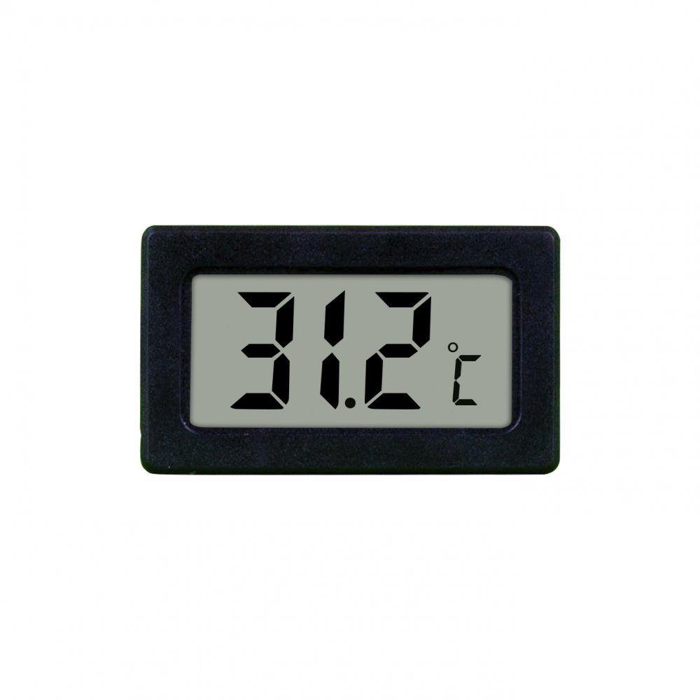 Mini Termômetro Digital -50°C a 80°C Preto Elitech TPM-10