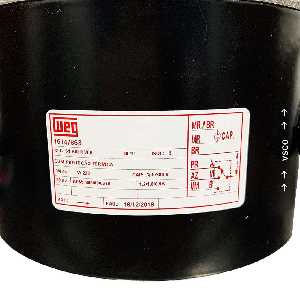 Motor Elétrico Ventilador Hitachi HLD13698D