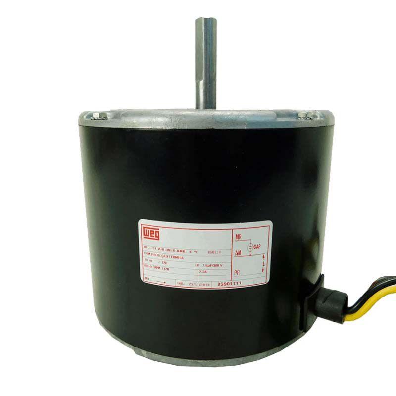 Motor Ventilador Condensadora Ar Condicionado Springer Carrier 25911001