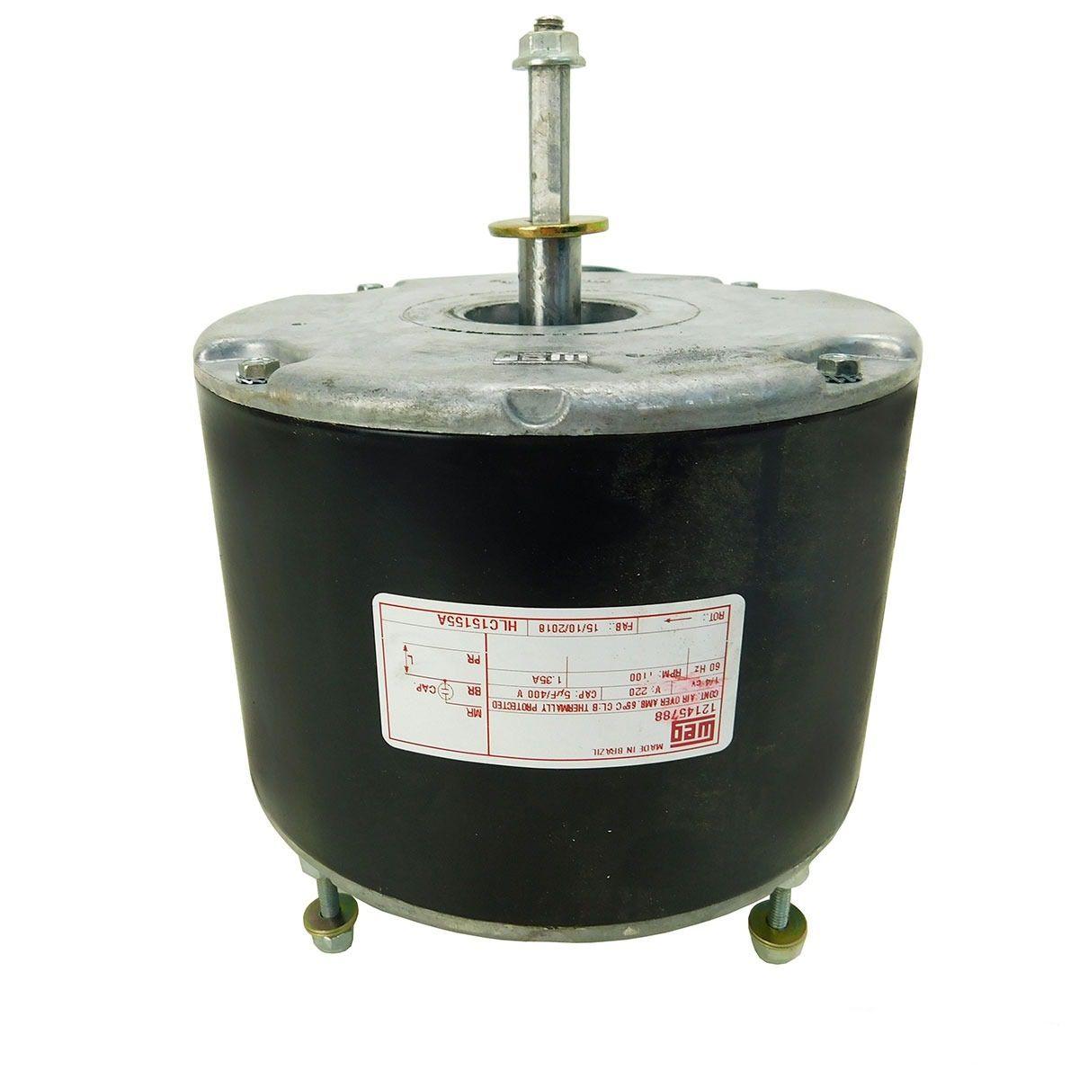 Motor Ventilador Condensadora Hitachi Modelos RAP 36.000 até 60.000 Btus D43346A
