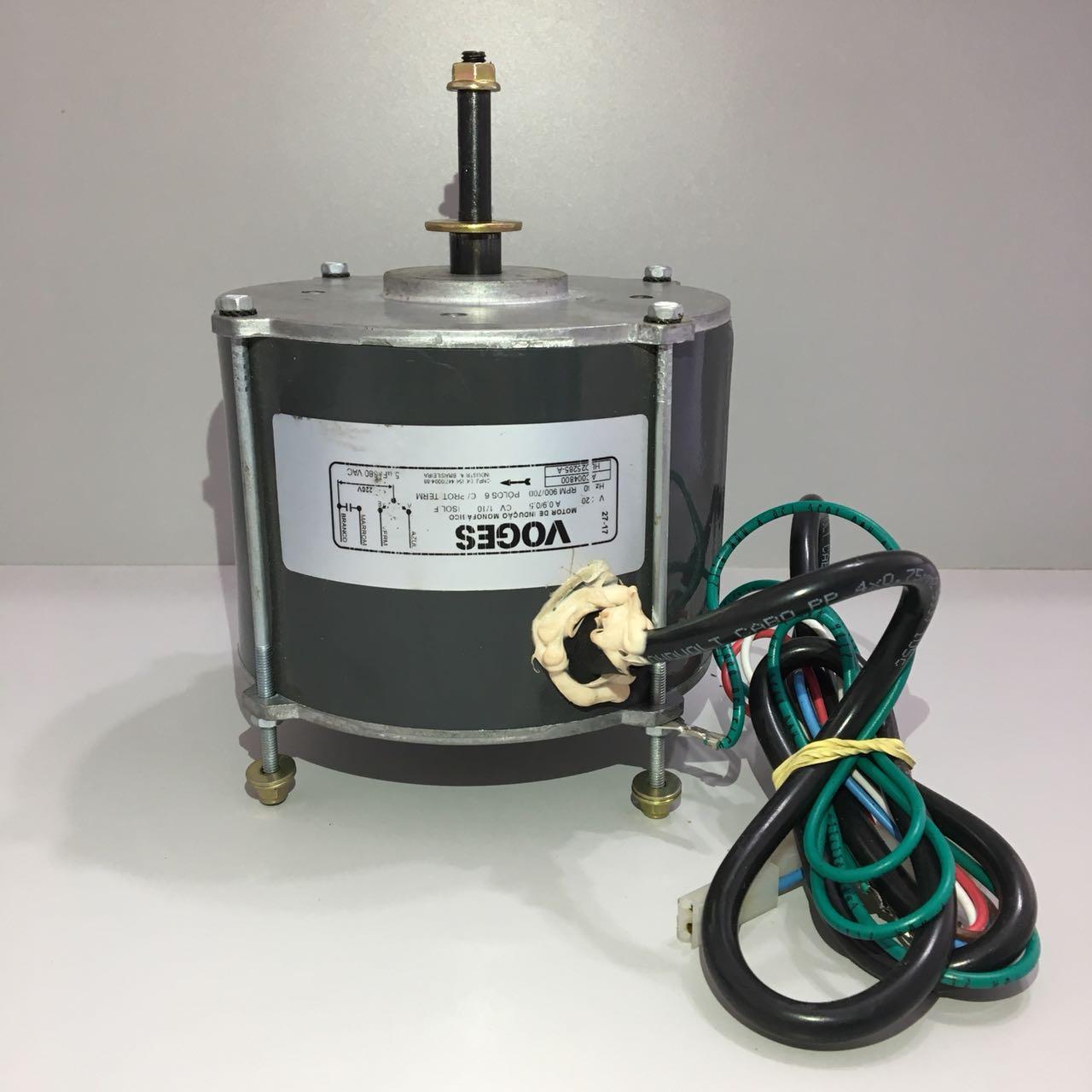 Motor Ventilador Condensadora Hitachi Modelos RAP Capacidades 30.000 até 50.000 Btus