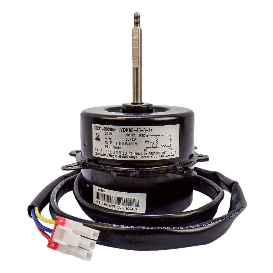 Motor Ventilador Condensadora Samsung 18.000 a 24.000 Btus