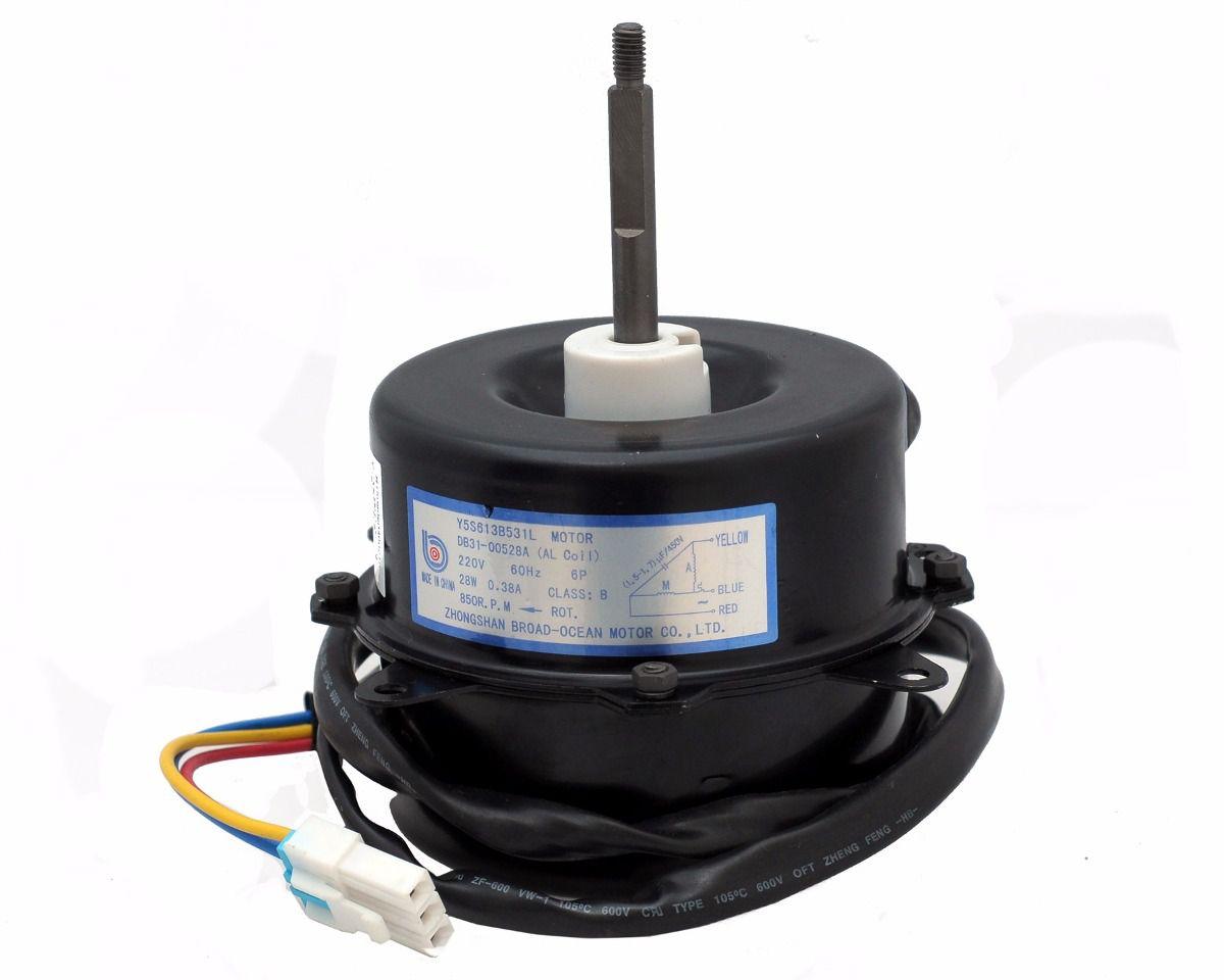 Motor Ventilador Condensadora Samsung 9.000 a 12.000 Btus 220v 60Hz 28W