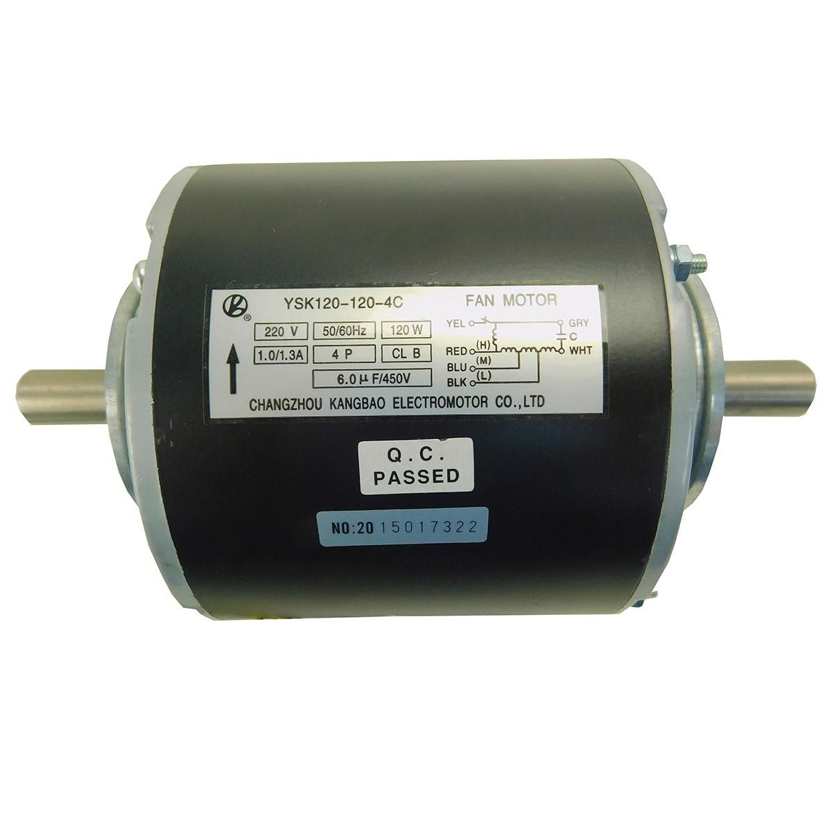 Motor Ventilador Evaporadora Monofásico Ar Condicionado Hitachi CF0060020