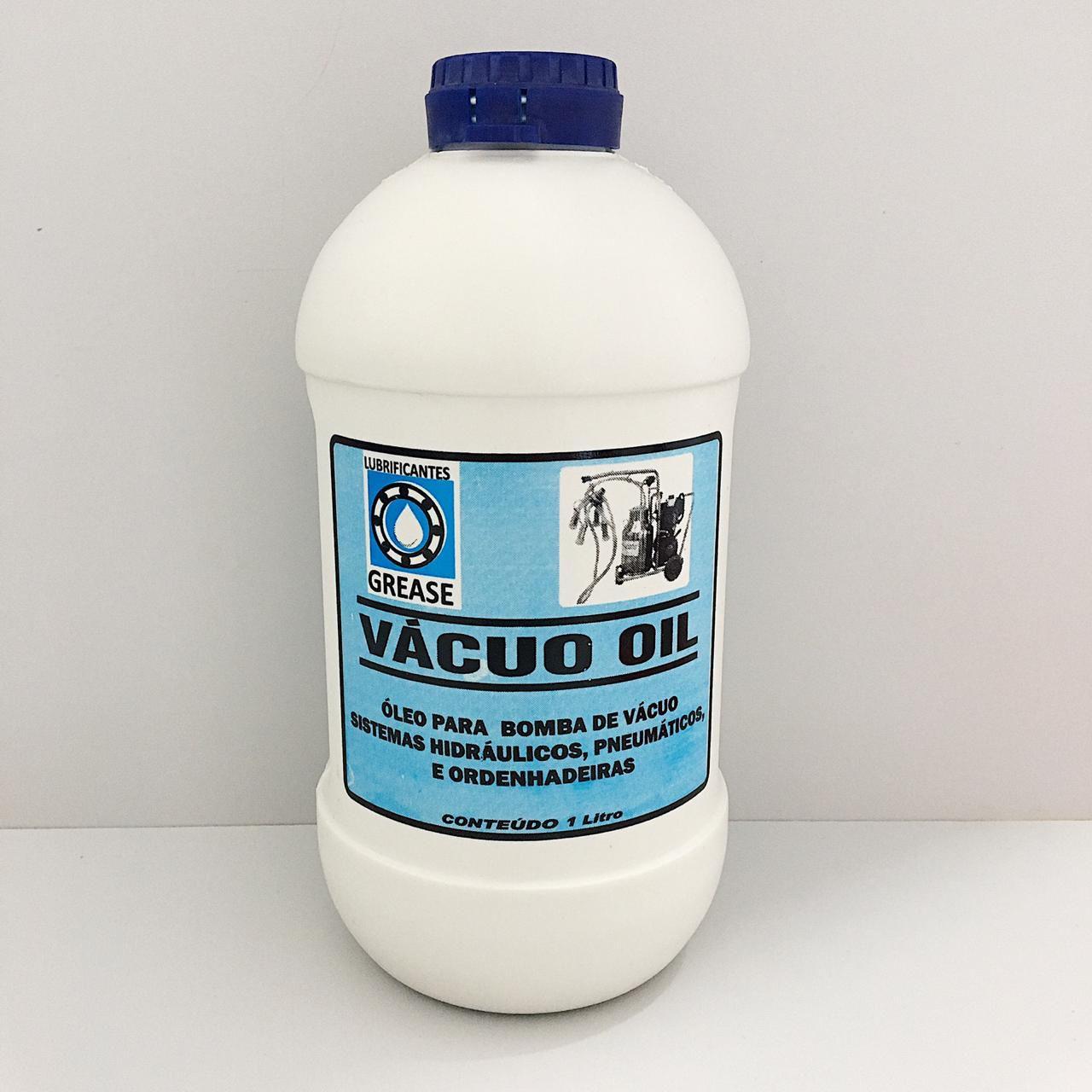 Óleo Lubrificante Para Bomba De Vácuo Refrigeração 1 Litro - Vácuo Oil Grease