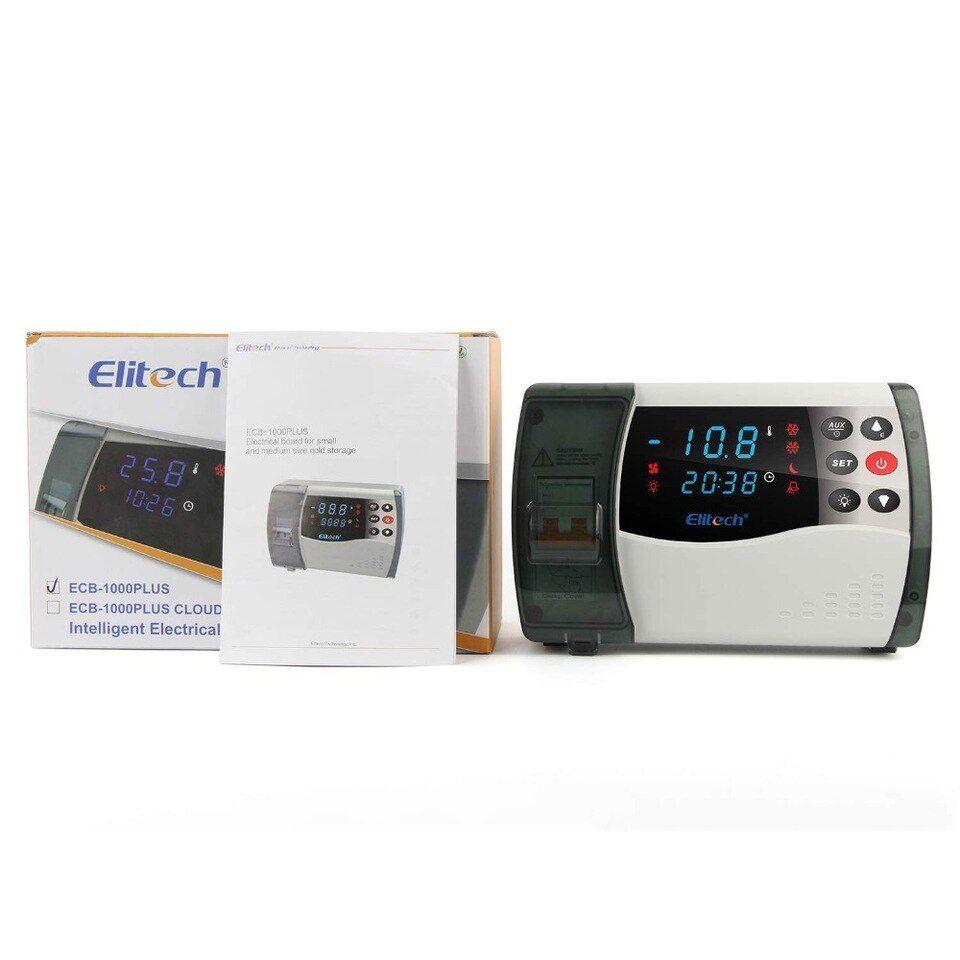 Painel de Controle Para Câmaras Frias de Pequeno e Médio Porte ECB-1000PLUS Cloud WI-FI Elitech