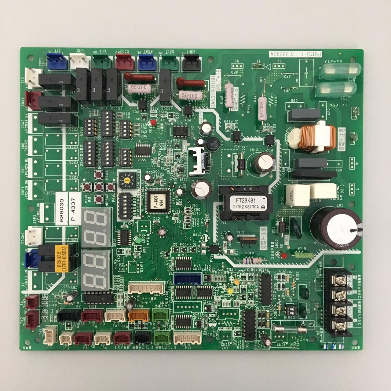 Placa de Circuito PCB1 220V Hitachi 17B43062B