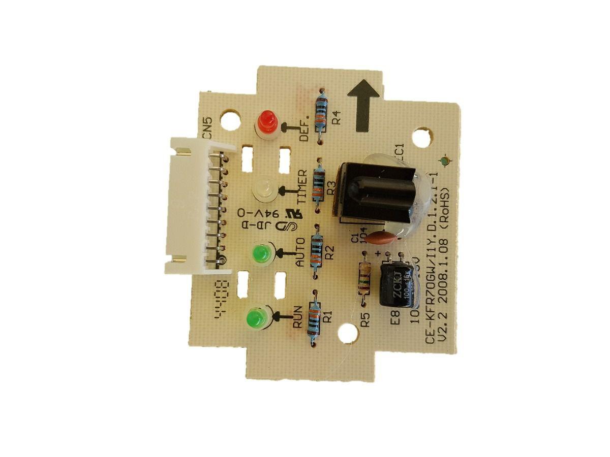 Placa Display Receptora Springer Carrier Maxiflex 22.000 Btus 2013330A0003