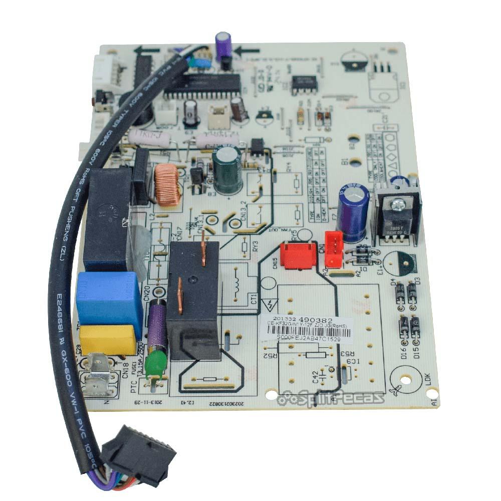 Placa Eletrônica Ar Condicionado Evaporadora Hi Wall 12.000 Btus Springer 201332490382