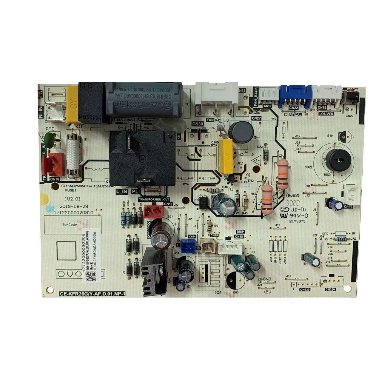 Placa Eletrônica Ar Condicionado Evaporadora Springer 9.000 Btus 42AFCD09A5 17122000030308