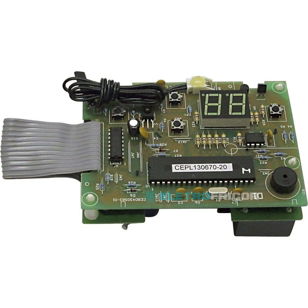 Placa Eletrônica Ar Condicionado De Janela Springer Silentia 220V 18.000 a 30.000 Btus GW79037005