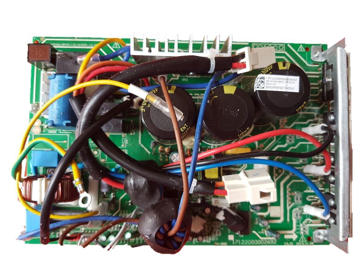 Placa Eletrônica Condensadora Carrier Inverter 18.000 Btus 201337790059