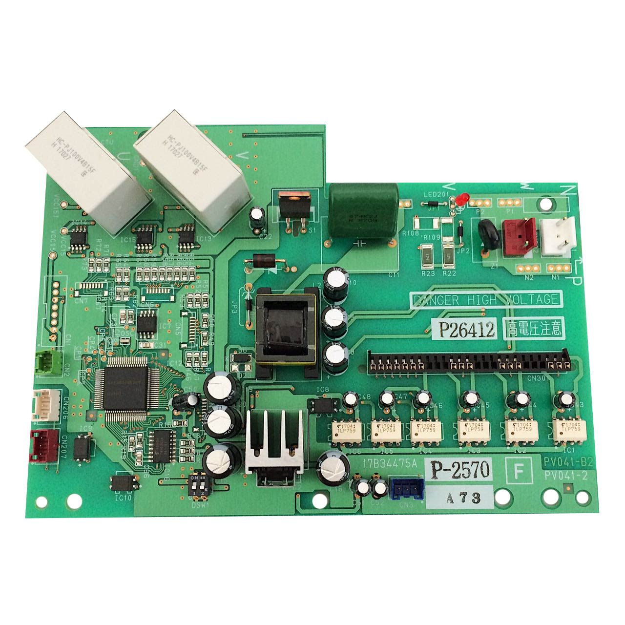 Placa Eletrônica Condensadora Hitachi 17B34864A