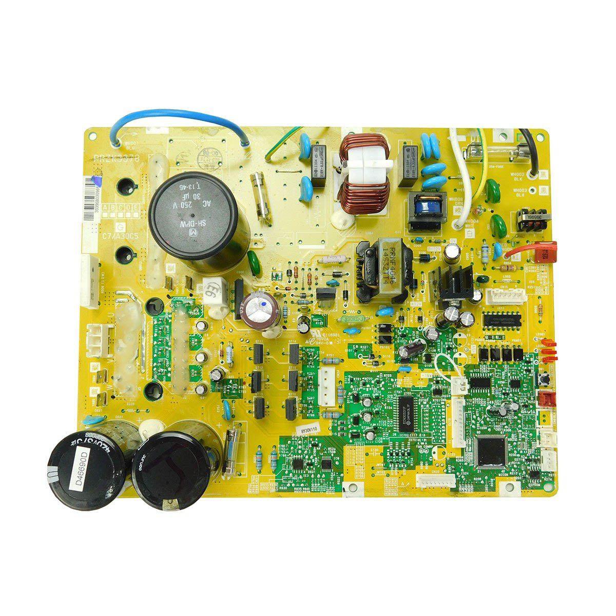 Placa Eletrônica Condensadora Hitachi RAAIV12B e RACIV12B Inverter Frio D46690D