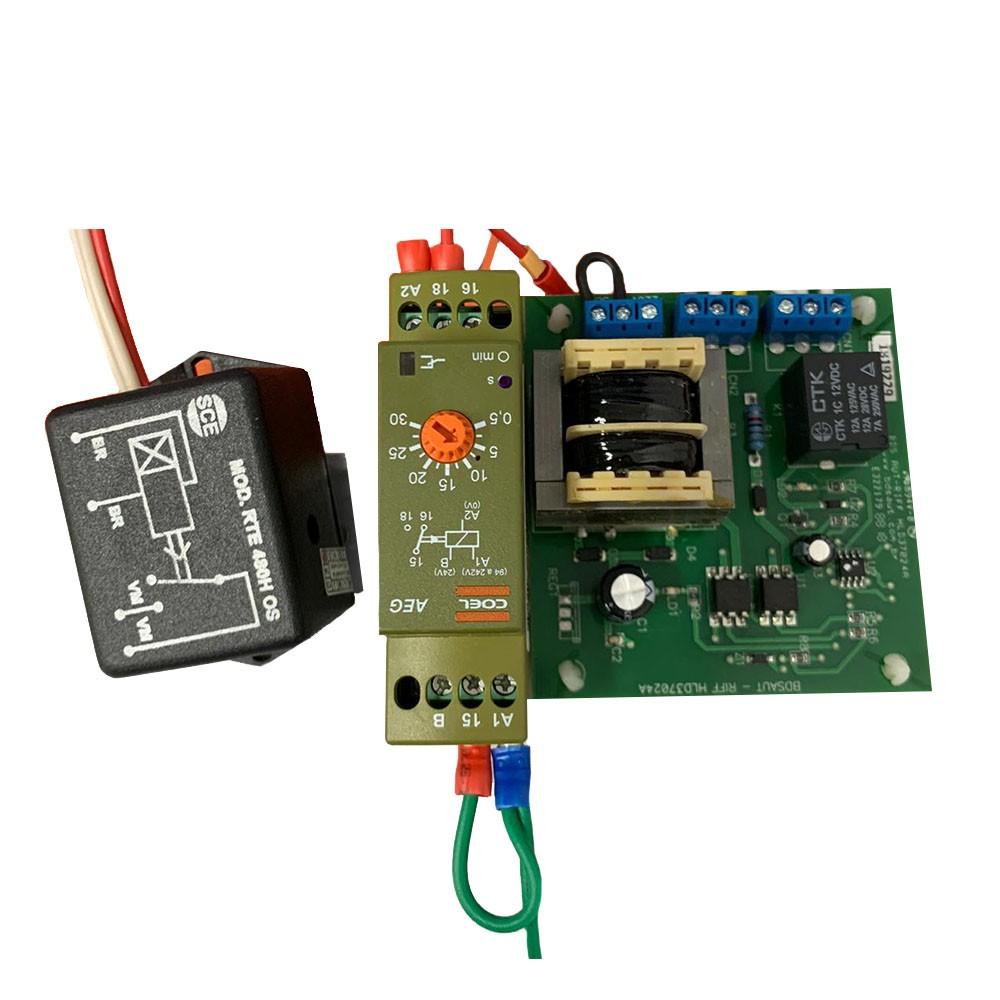Placa Eletrônica Condensadora Kit Sobressalente Hitachi Raa Rap 040/050 H5s B7s