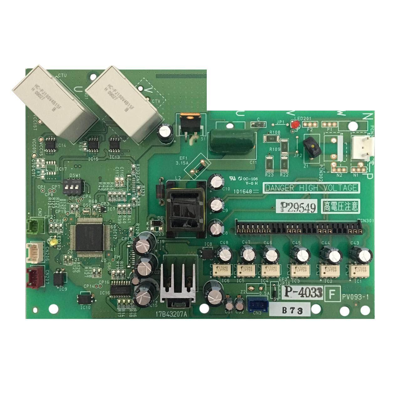 Placa Eletrônica de Circuito ISPM 380V Hitachi 17B41615B