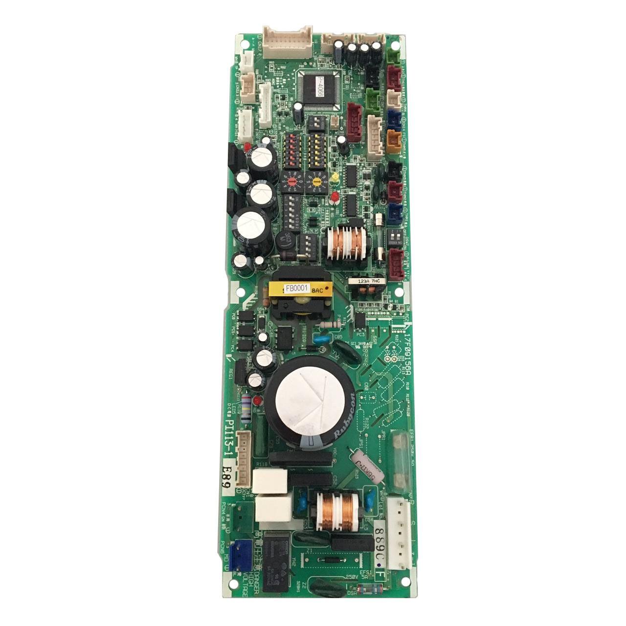 Placa Eletrônica de Controle Ar Condicionado Cassete VRF Hitachi 17B43437E