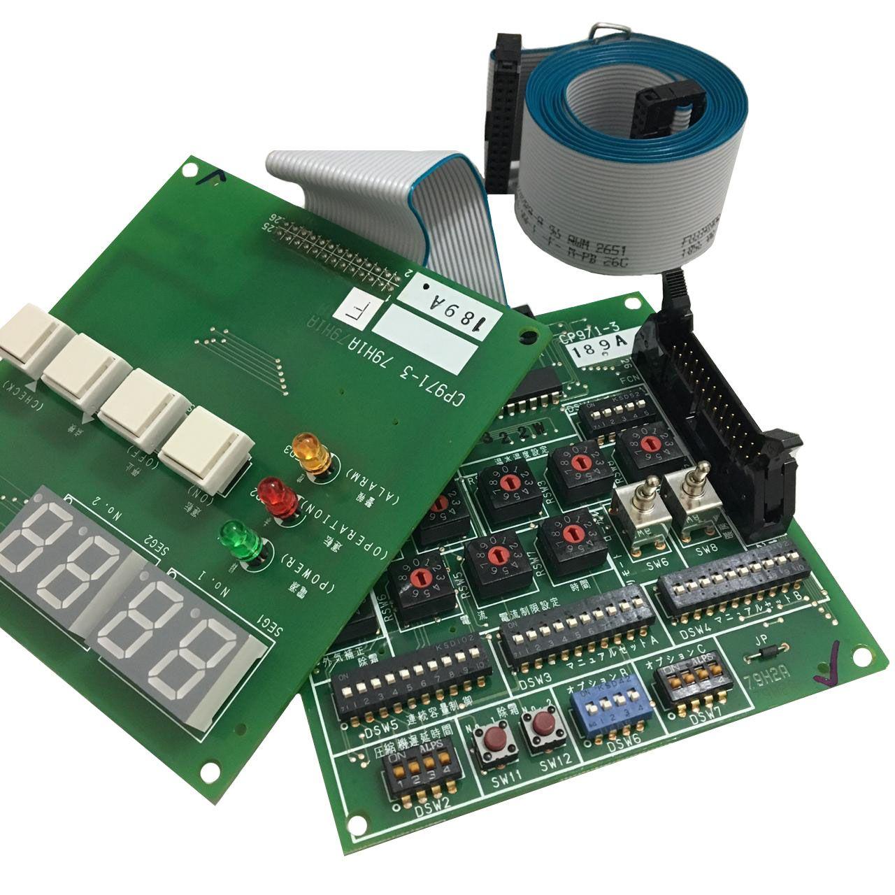 Placa Eletrônica Display do PCBs Hitachi Chiller 17B30733B