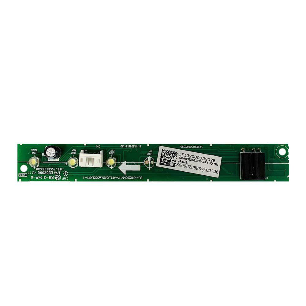 Placa Eletrônica do Display Receptora Evaporadora Midea 17122000022028