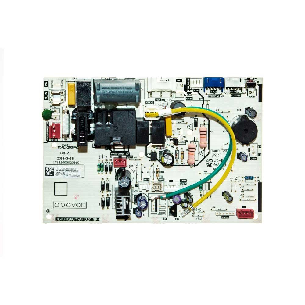 Placa Eletrônica Evaporadora Ar Condicionado 12.000 Btus Springer Midea 17122000026051