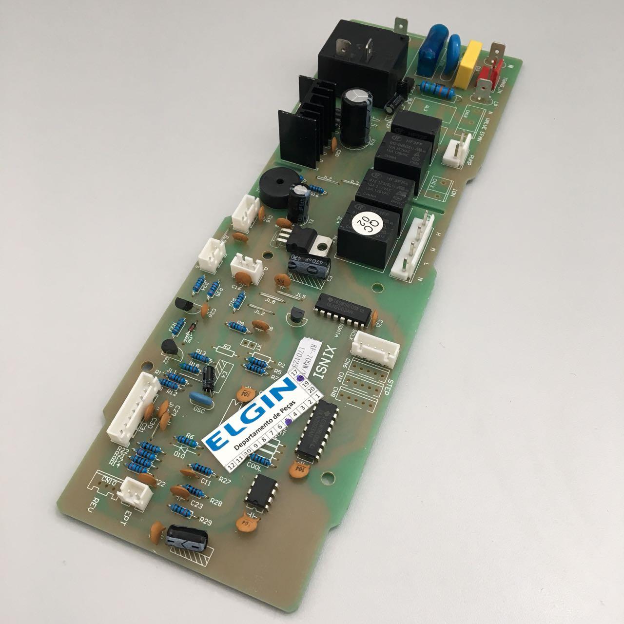 Placa Eletrônica Evaporadora Cassete ELGIN. KBFI 24/36/48