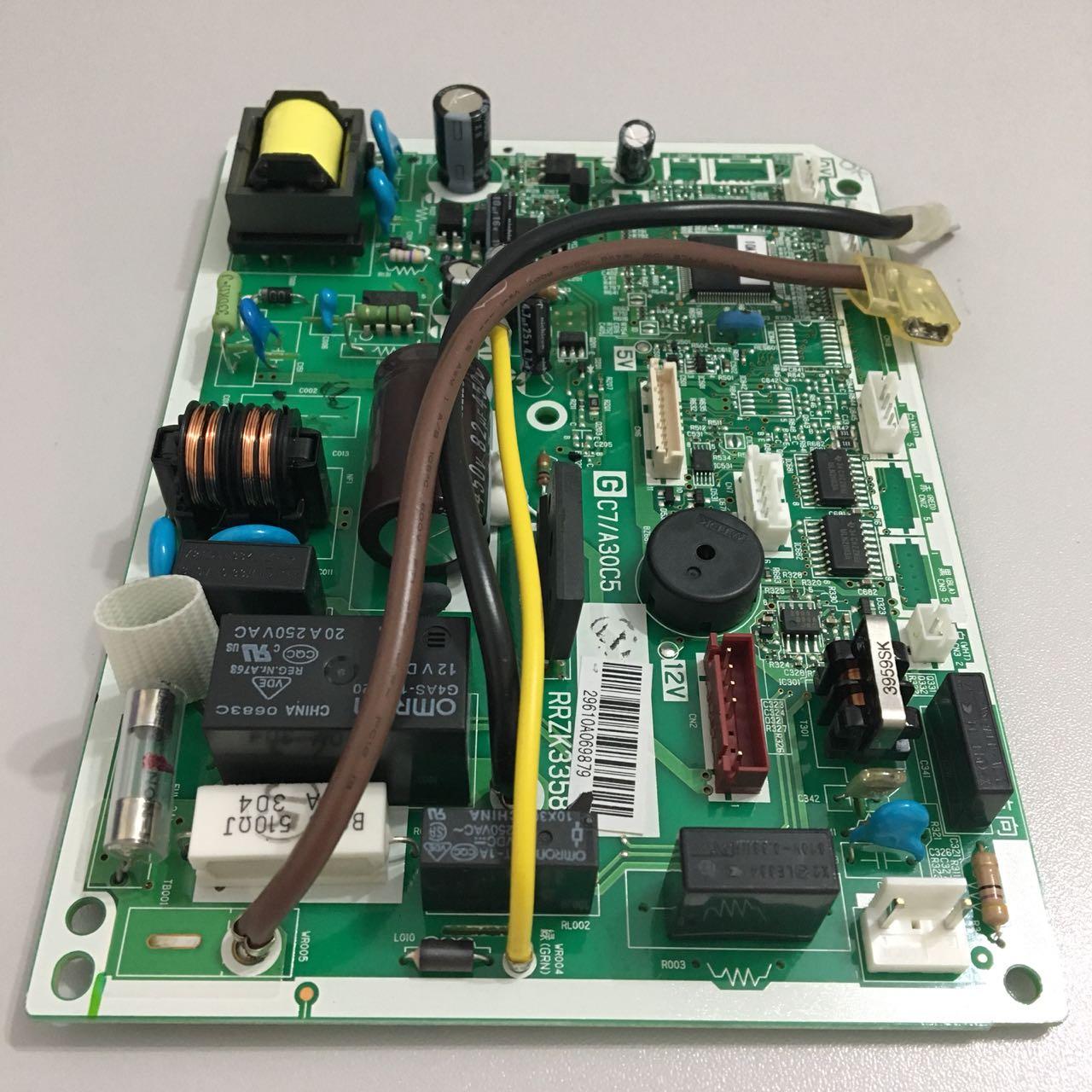 Placa Eletrônica Evaporadora Hitachi Modelo RPKIV09B Inverter Frio