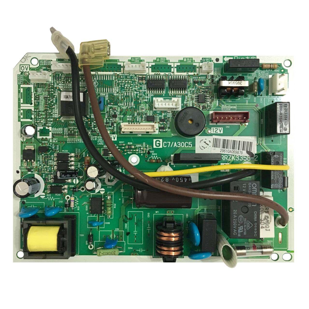Placa Eletrônica Evaporadora Hitachi Modelo RPKIV09B Inverter Frio D46686F