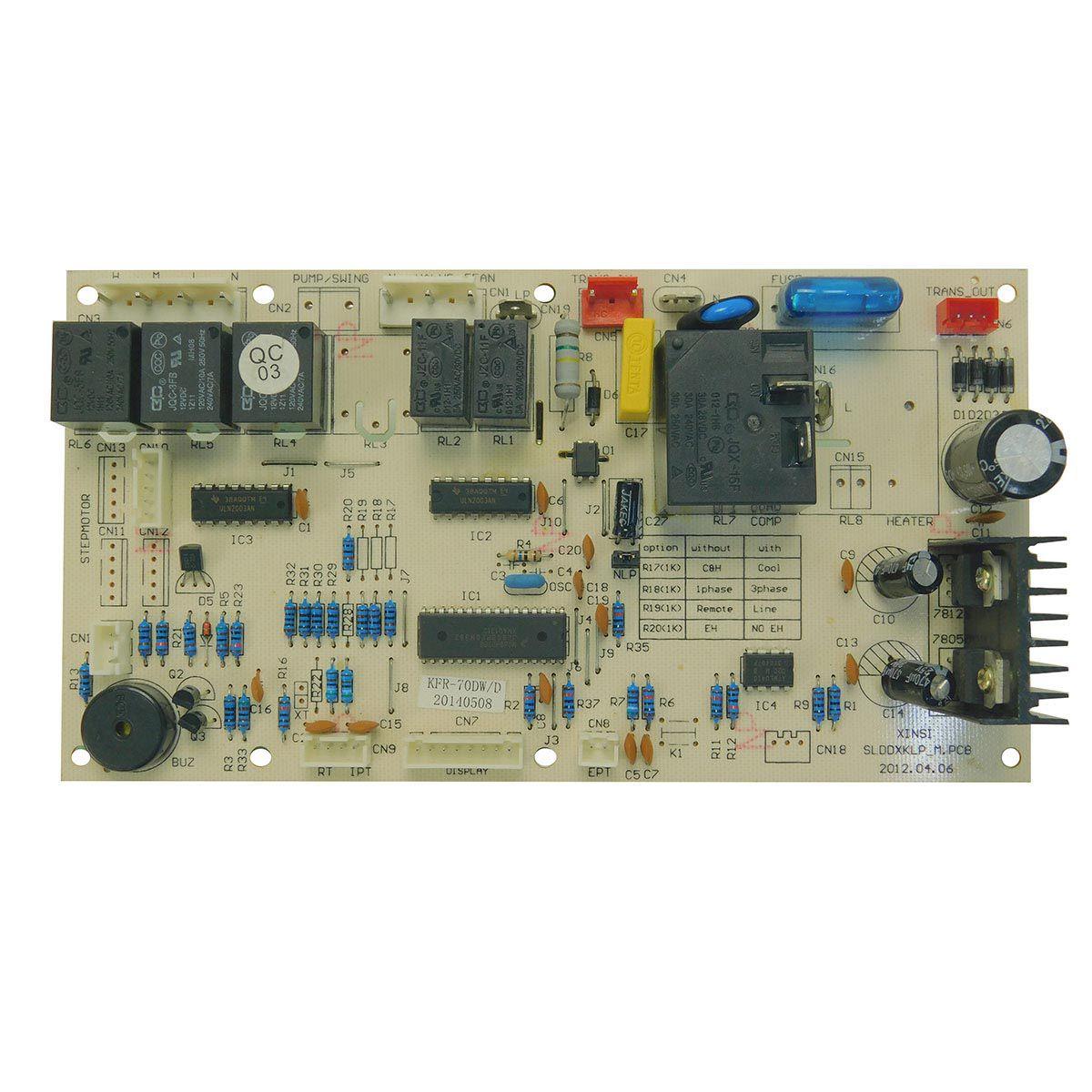 Placa Eletrônica Evaporadora Hitachi RPC60BP RPC48BP Piso Teto Utopia CF0048039