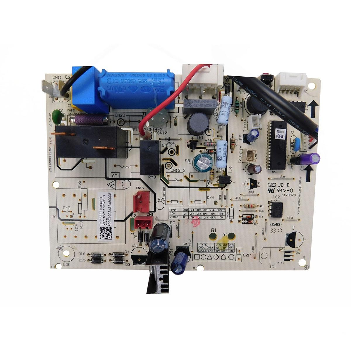 Placa Eletrônica Evaporadora Springer Midea 12.000 Btus 2013324A0331