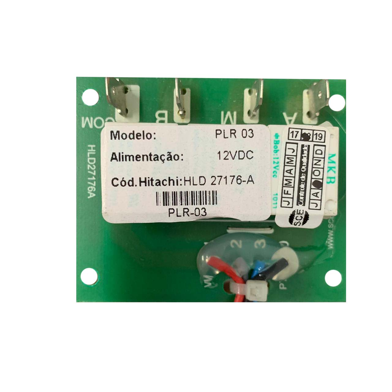 Placa Eletrônica Motor Insuflamento Ar Condicionado Hitahi HLD28344A
