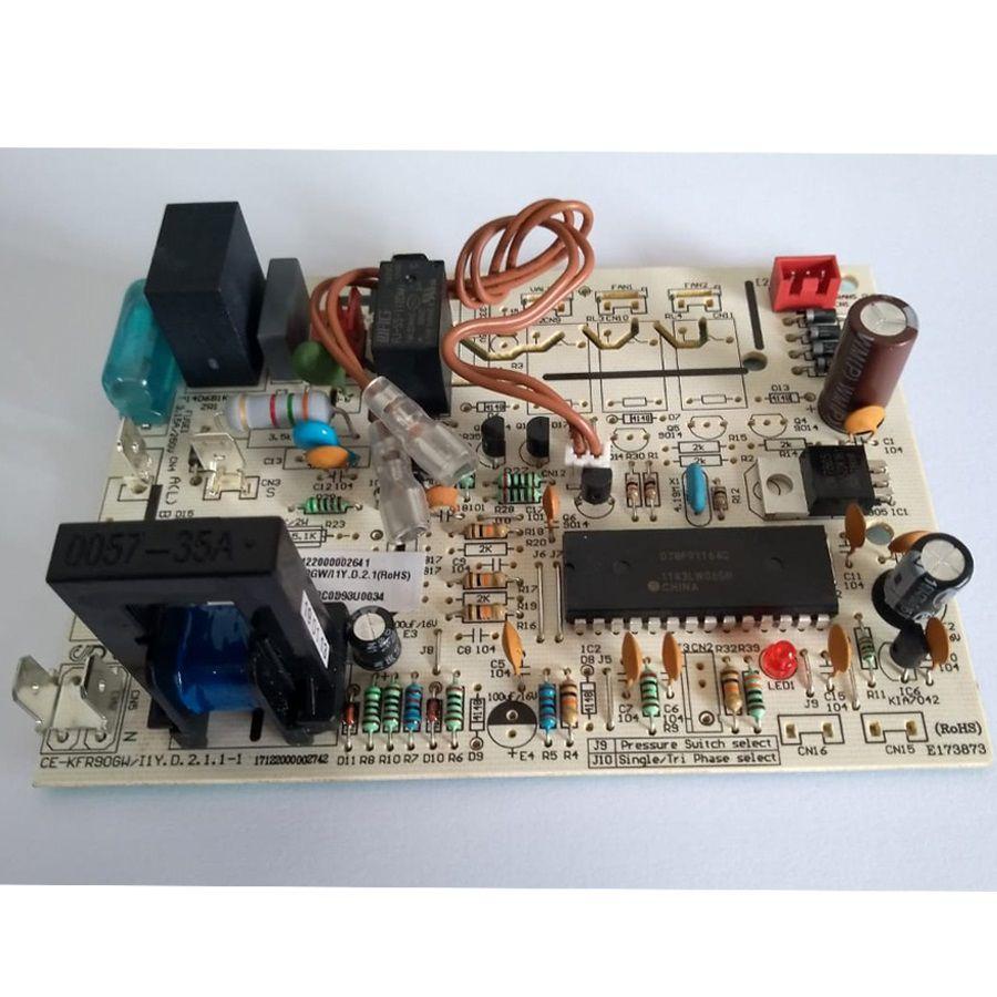 Placa eletrônica para ar condicionado Springer Midea 201335490034
