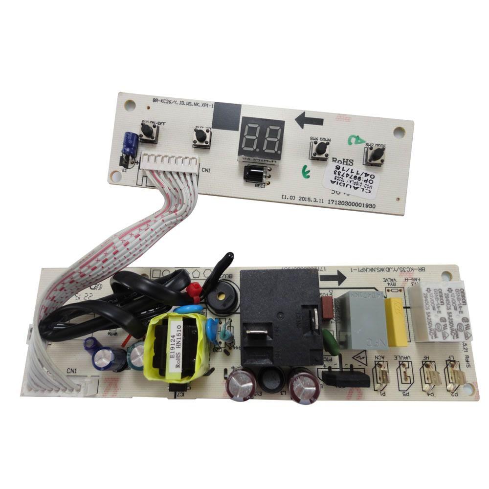 Placa Eletrônica Principal Ar condicionado Janela Springer Duo GW79037020B Bivolt