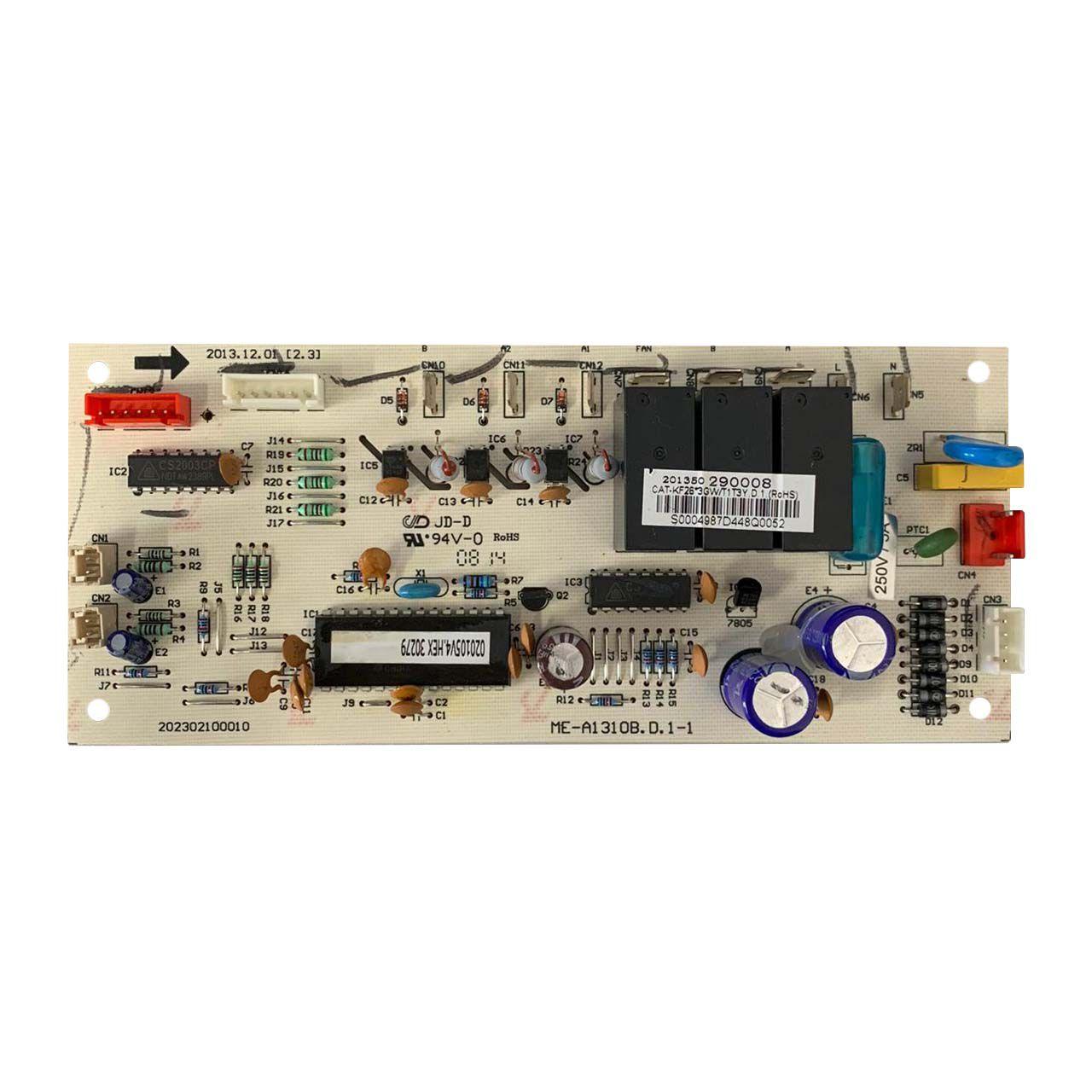 Placa Eletrônica Principal da Condensadora Midea Carrier Modelo 38LMCB027515TC