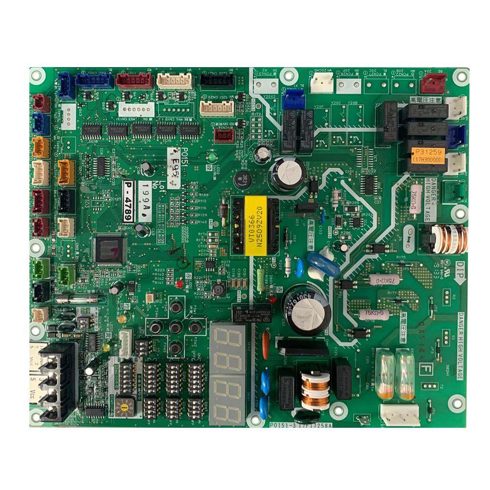 Placa Eletrônica Principal PCB Configurada 220V Hitachi D46862A