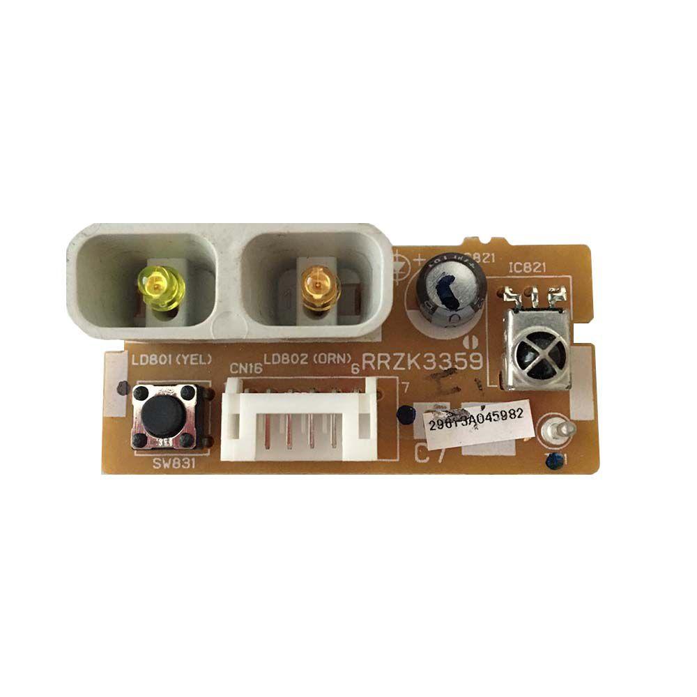 Placa Receptora Hitachi Modelos Rpkiv 9.000 até 18.000 Btus Frio e Quente/Frio Inverter