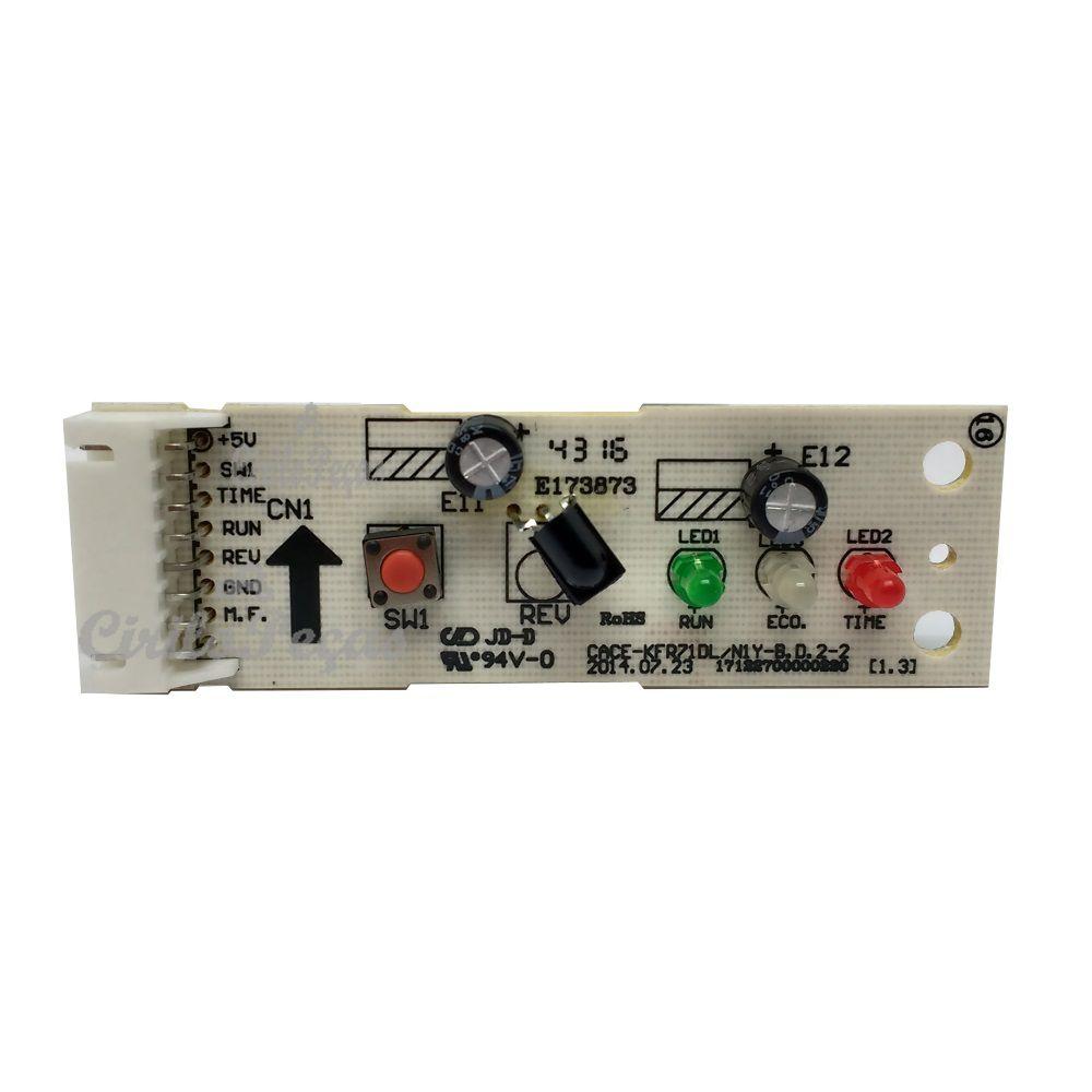 Placa Receptora Evaporadora Space Piso Teto Springer Carrier 18.000 a 60.000 Btus 79037196