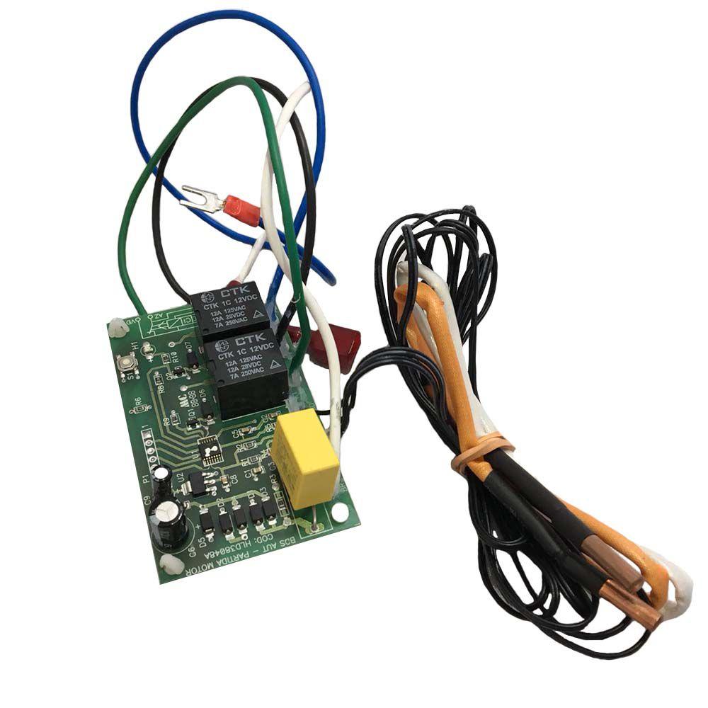 Placa Eletrônica Rele de Proteção Condensadora Hitachi Modelos RAP 48.000 a 60.000 Btus D42304A