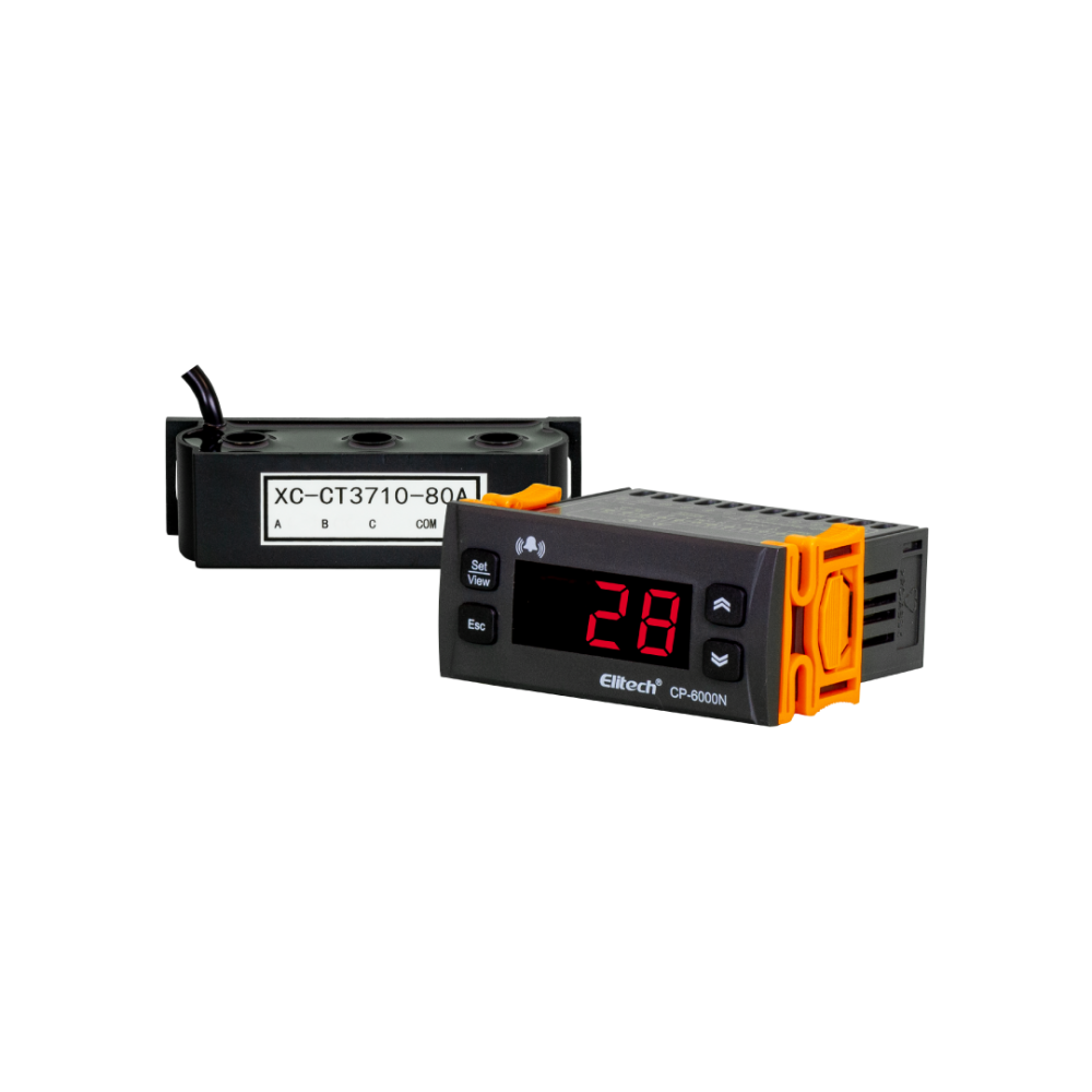 Protetor de Corrente Trifásico Multifuncional 220V TC 80A Elitech CP-6000N