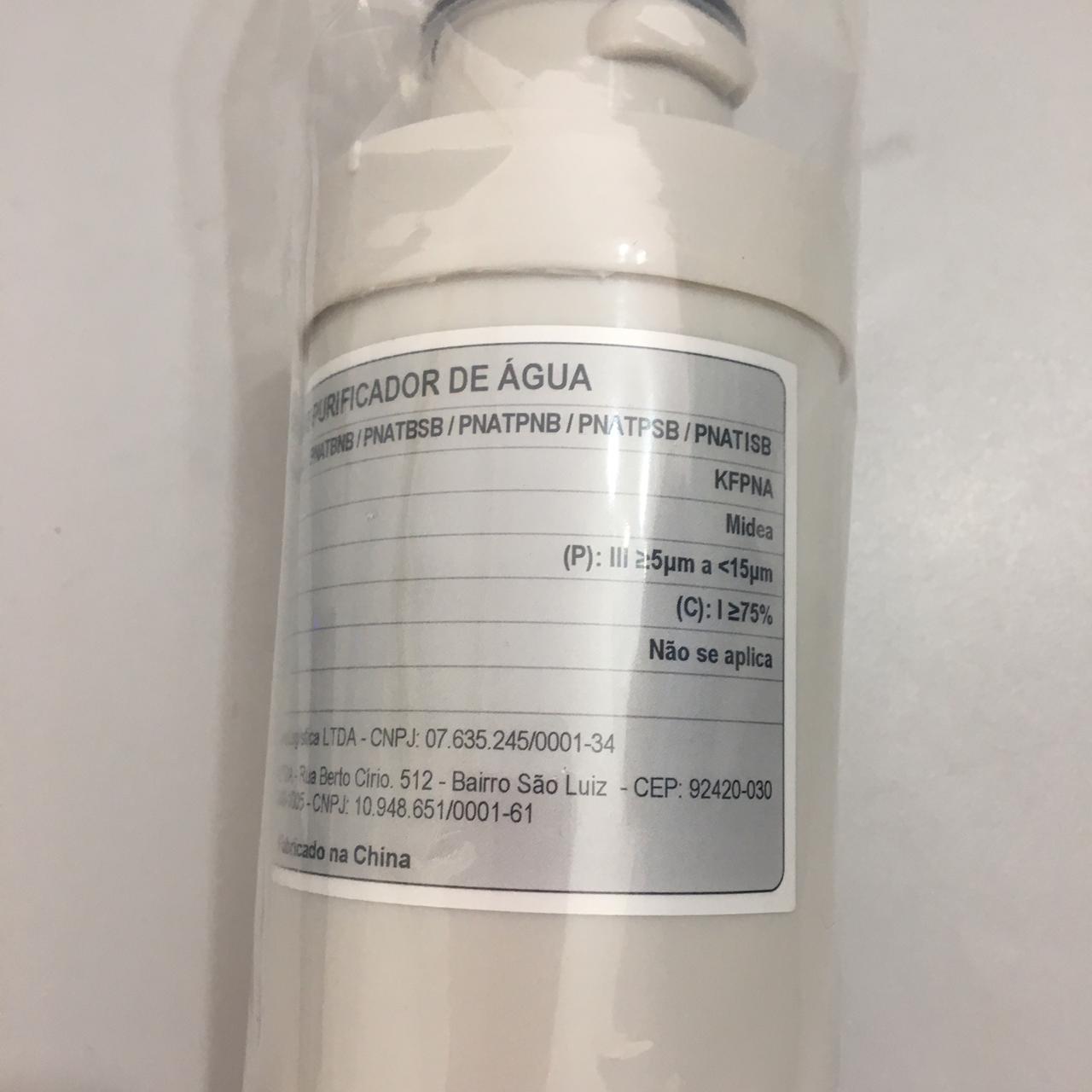 Refil Filtro KFPNA Purificador de Água Midea Original