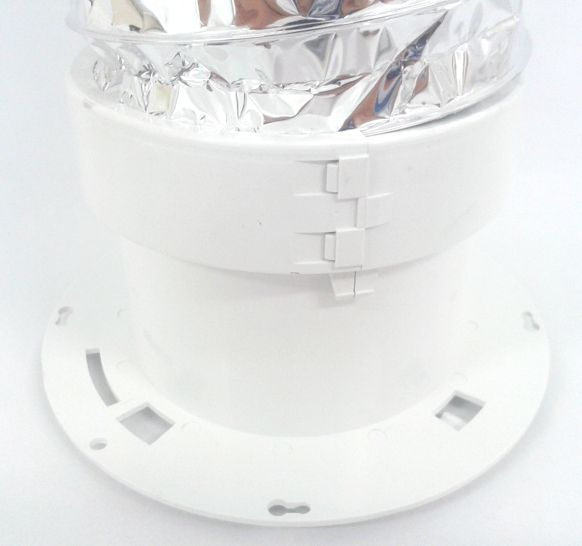 Regulador de Vazão de Ar RVA 150mm