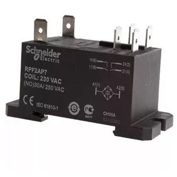 Rele Schneider RPF2AP7 Para Ar Condicionado 30a 230vac