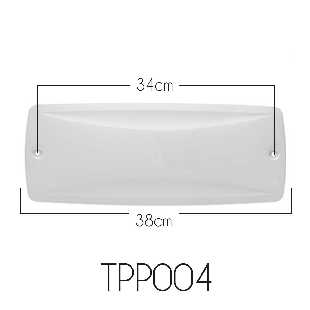 Tampa Para Caixa de Passagem Split POP MAX TPP004 Kit C/ 04