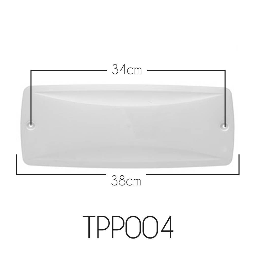 Tampa Para Caixa de Passagem Split POP MAX TPP004 Kit C/ 10